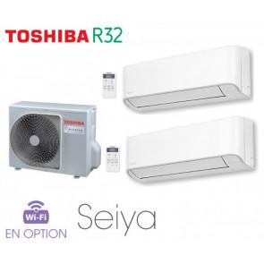 Toshiba Seiya Bi-Split RAS-2M10U2AVG-E + 2 RAS-B07J2KVG-E