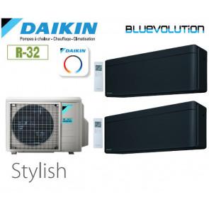 Daikin Stylish Bisplit 2MXM40N + 2 FTXA20BB - R32