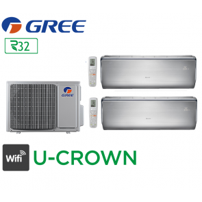 GREE Bi-split FM 18 + 1 FM U-CROWN 9 + 1 FM U-CROWN 12