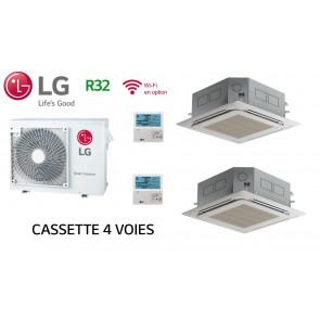 LG Bi-Split Cassette 4 voies MU3R21.UE0 + 1 X CT09R.NR0 + 1 X  CT12R.NR0
