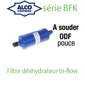 Filtre deshydrateur ALCO Bi-Flow BFK-309S - Raccordement 1 1/8 ODF