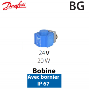 Bobine haute performance BG 018F6857 Danfoss