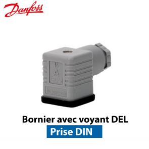 Connecteur pour bobine de vanne EVR/EVRH de Danfoss