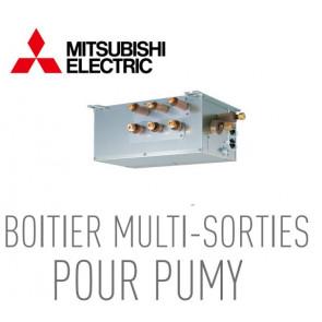 Boîtier multi-sorties pour PUMY PAC-MK34BC de Mitsubishi