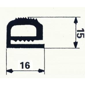BOURRELET SILICONE GRIS ANTHRACITE Nº 1420338 en 10 m