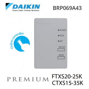 Adaptateur WI-FI pour smartphone BRP069A43 de Daikin