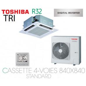 Toshiba Cassette 4-Voies 840X840 STANDARD DI RAV-RM1101UTP-E triphasé