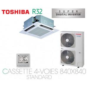 Toshiba Cassette 4-Voies 840X840 STANDARD SDI RAV-RM1401UTP-E