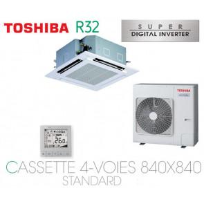 Toshiba Cassette 4-Voies 840X840 STANDARD SDI RAV-RM801UTP-E