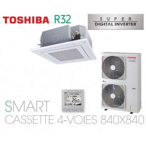 Toshiba Smart Cassette 4-Voies 840X840 SDI RAV-GM1401UT-E