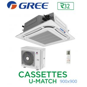 GREE Cassete U-MATCH 900x900 UM CST 42 R32