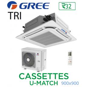 GREE Cassete U-MATCH 900x900 UM CST 48 3PH R32