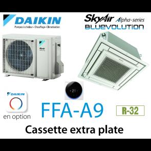 Daikin Cassette 4 voies extra plate Alpha FFA50A9