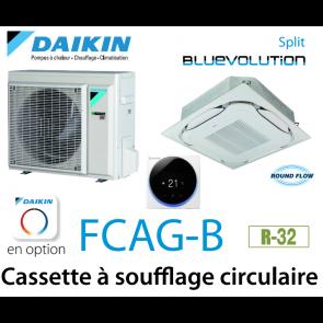 Daikin Cassette 8 voies «Round Flow» SPLIT FCAG50B monophasé