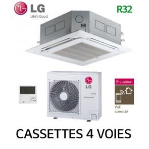 LG Cassette 4 voies DUAL VANE Inverter CT24F.NB0 - UUC1.U40