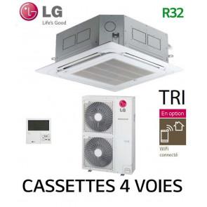 LG Cassette 4 voies DUAL VANE Inverter UT48F.NA0 - UUD3.U30