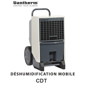 Déshumidificateur d'air mobile CDT30 de Dantherm