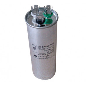 Condensateur permanent CBB65 dual 35+ 1.5 μF