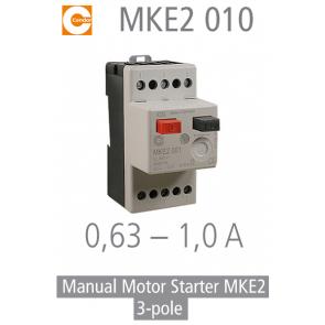 Démarreur de moteur manuel MKE2 010 de Condor