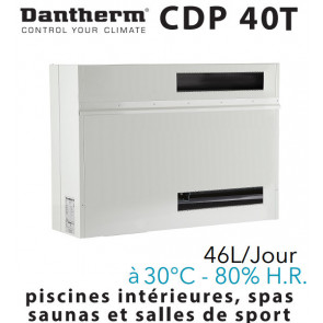 Déshumidificateur encastrable CDP 40T de DANTHERM