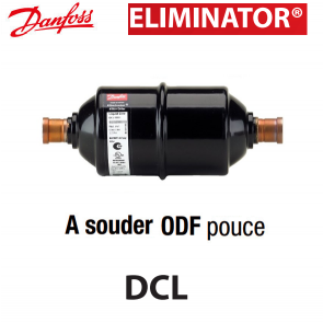 Filtre deshydrateur Danfoss DCL 607S - Raccordement 7/8 ODF