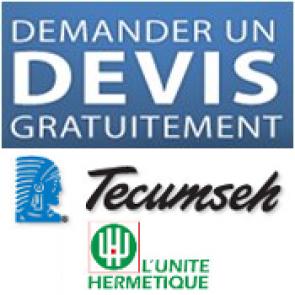 Groupe condensation Tecumseh - L'unité Hérmetique
