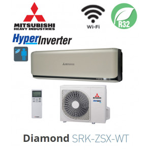 Mitsubishi Heavy Industries Mural Diamond SRK35ZSX-WT