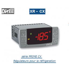 Régulateur digital pour moyenne et basse température XR70CX de Dixell