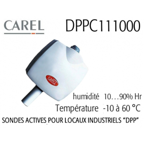 Sonde DPPC111000 pour ambiance technique de Carel
