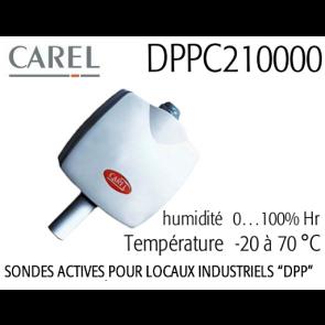 Sonde DPPC210000 pour ambiance technique de Carel