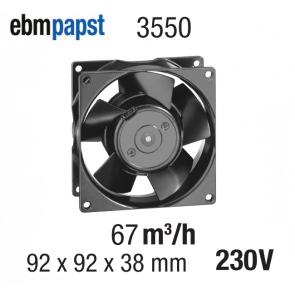 Ventilateur Axial 3550 de EBM-PAPST