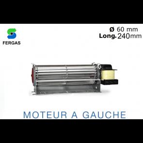 Ventilateur Tangentiel TGO 60/1-240/15 de Fergas