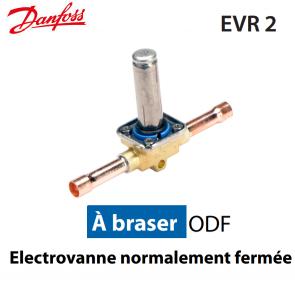 Vanne solénoïde sans bobine EVR 2 - 032F1201 - Danfoss