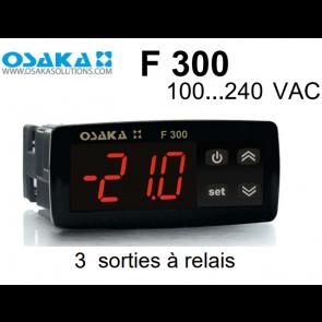 Thermostat numérique de refroidissement F 300 de Osaka en 100...240 VAC