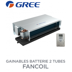 Gainable batterie 2 tubes FANCOIL CDT 102 de Gree