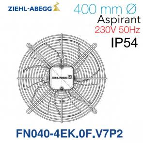 Ventilateur hélicoïde FN040-4EK.OF.V7P2 de Ziehl-Abegg
