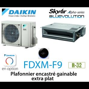 Daikin Plafonnier encastré gainable extra plat Alpha FDXM50F9