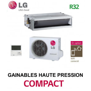 LG GAINABLE Haute pression statique COMPACT CM18F.N10 - UUA1.UL0