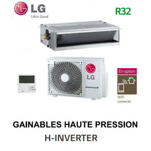 LG GAINABLE Haute pression statique H-INVERTER UM18FH.N10 - UUB1.U20