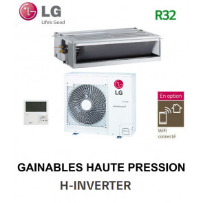 LG GAINABLE Haute pression statique H-INVERTER UM24FH.N20 - UUC1.U40