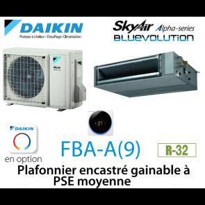 Daikin Plafonnier encastré gainable à PSE moyenne Alpha FBA35A9
