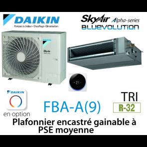Daikin Plafonnier encastré gainable à PSE moyenne Alpha FBA71A9 triphasé