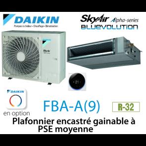 Daikin Plafonnier encastré gainable à PSE moyenne Alpha FBA71A9 monophasé