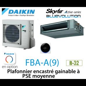 Daikin Plafonnier encastré gainable à PSE moyenne Active FBA71A9
