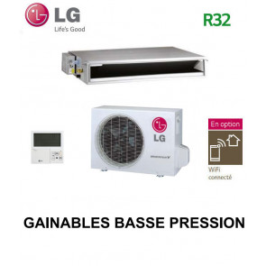LG GAINABLE Basse pression statique CL12F.N50 - UUA1.UL0