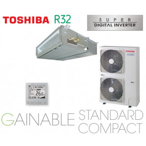 Toshiba Gainable BTP standard compact Super Digital inverter RAV-RM1101BTP-E monophasé