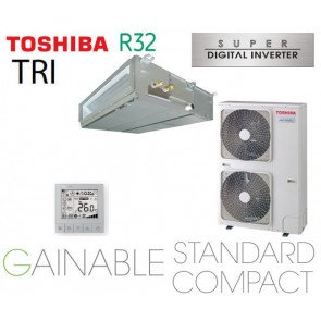 Toshiba Gainable BTP standard compact Super Digital inverter RAV-RM1601BTP-E triphasé