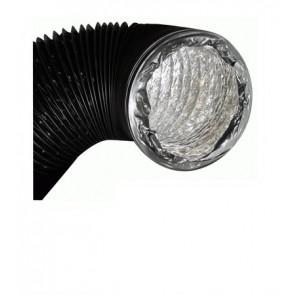 Gaine souple de ventilation Aluminium et PVC 10 m - Ø127 mm