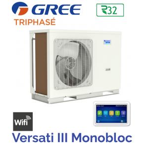 Pompe à chaleur Monobloc VERSATI III MB 10 3PH de GREE
