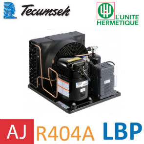 Groupe de condensation Tecumseh CAJN2428ZBR - R404A, R449A, R407A, R452A